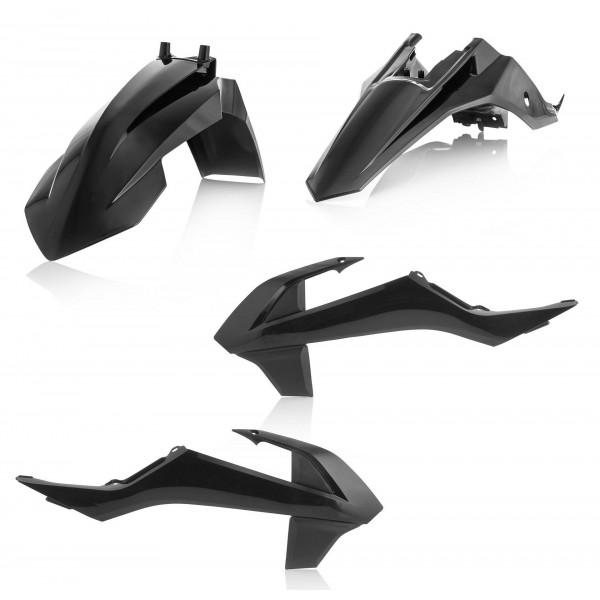 Acerbis Plastik Kit KTM schwarz / 3-teilig #1