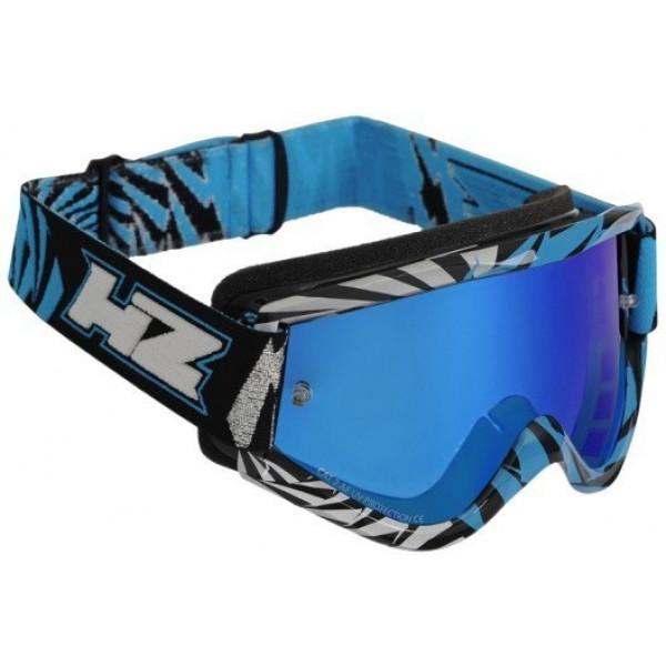 SALE% - HZ Brille GMZ2 Vortex silber-cyan #1