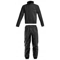 SALE% - Acerbis Regenanzug Rain Suit Logo schwarz