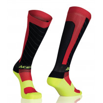 SALE% - Acerbis Strumpf MX Compression gelb-rot