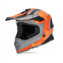 Acerbis Helm Steel Junior schwarz-orange