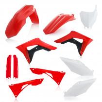 Acerbis Plastik Full Kit Honda OEM / 7tlg.