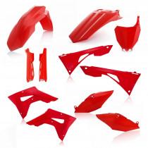 Acerbis Plastik Full Kit Honda rot / 7tlg.