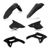 Acerbis Plastik Kit Honda schwarz / 4tlg.
