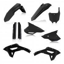 Acerbis Plastik Full Kit Honda schwarz / 6tlg.