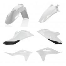 Acerbis Plastik Kit GasGas weiß-schwarz / 4tlg.