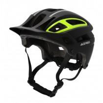Acerbis Helm MTB Double.P schwarz-gelb-fluo