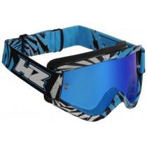 SALE% - HZ Brille GMZ2 Vortex silber-cyan