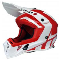 SALE% - UFO Helm Quiver Shasta rot-weiß