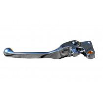 H-ONE Kupplungshebel Flex Yamaha / Suzuki / Kawasaki silber