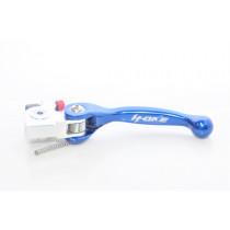 H-ONE Kupplungshebel Flex KTM / Husqvarna / Beta / TM / Sherco blau // Brembo kurz