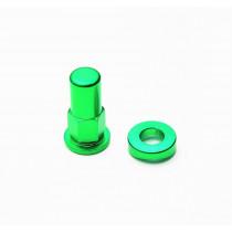 H-ONE Reifenhalter Schraube Alu grün
