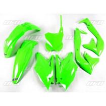 UFO Plastik Kit Kawasaki grün-fluo / 5tlg.