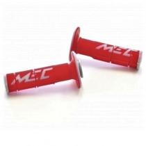 MEC Griffgummi Racing Doppia rot-grau