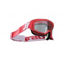 Just1 Brille Vitro rot-weiß