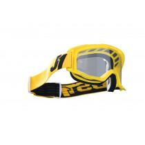 Just1 Brille Vitro gelb-schwarz