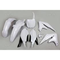 UFO Plastik Kit Yamaha weiß / 5tlg.