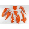 UFO Plastik Kit KTM orange / 5tlg. #1