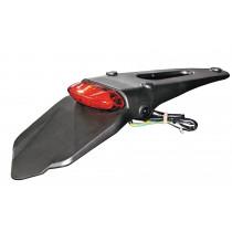 H-ONE Kennzeichenhalterung LED II schwarz-rot