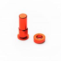H-ONE Reifenhalter Schraube Alu orange